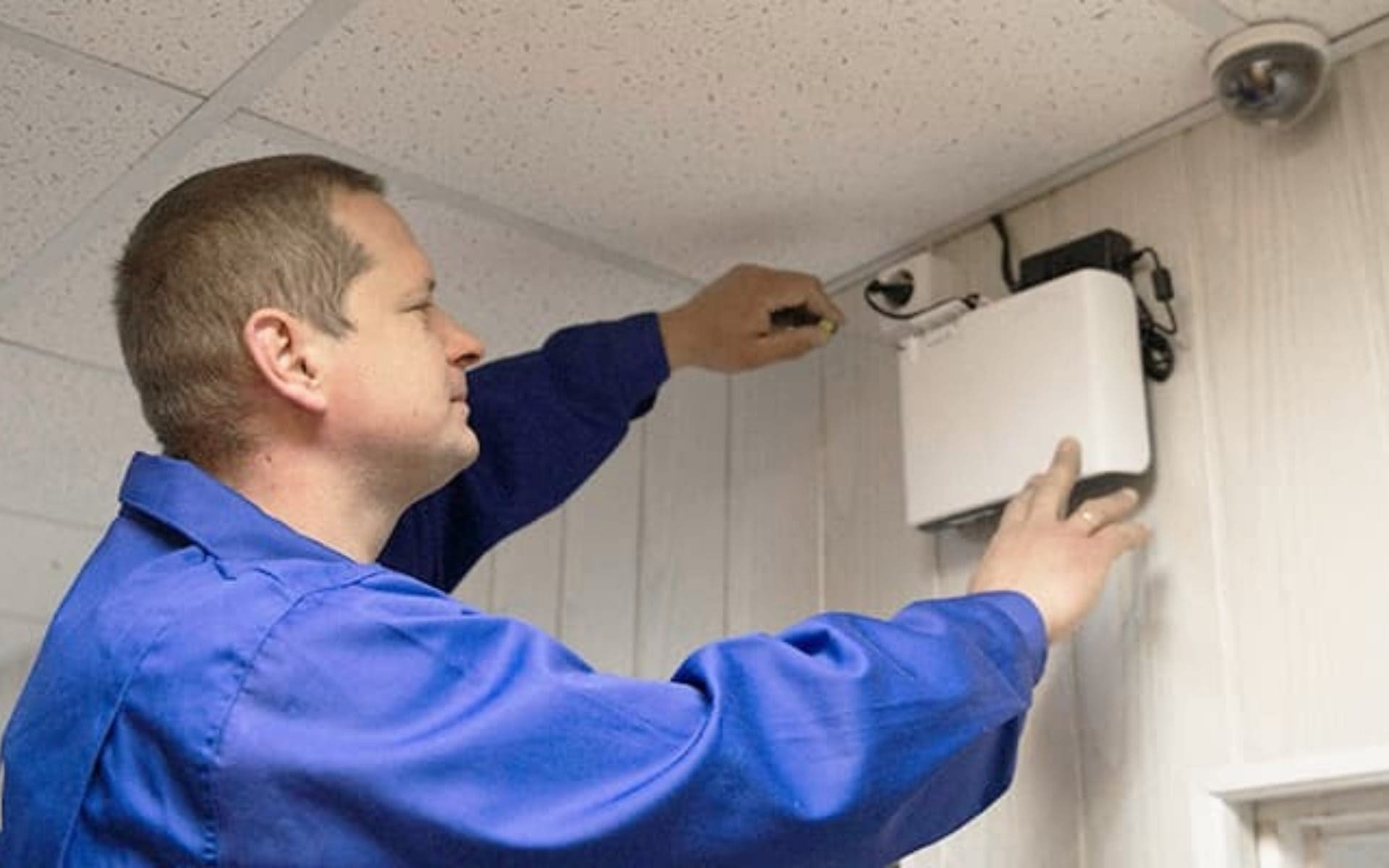Installation Of Security Alarm